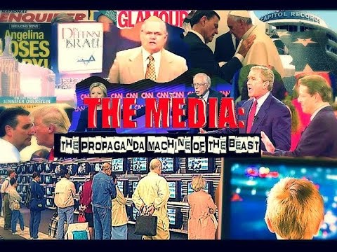 THE M.E.D.I.A.: The Propaganda Machine of the Beast (Full) [2016]