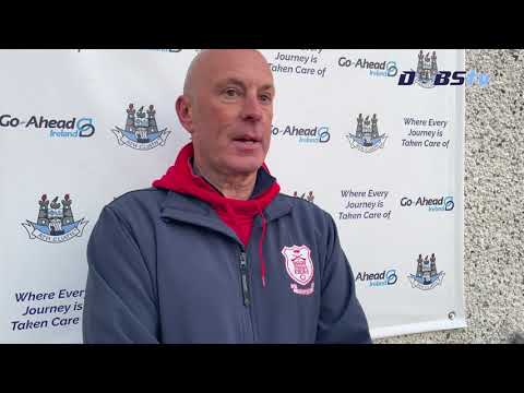 Cuala manager John Twomey speaks to DubsTV after win over St Brigids