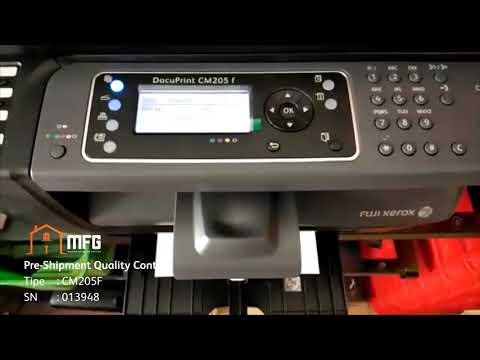 Printer Fuji Xerox CM205F - 013948 (New)
