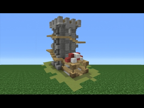 Minecraft Tutorial: How To Make A Tower House