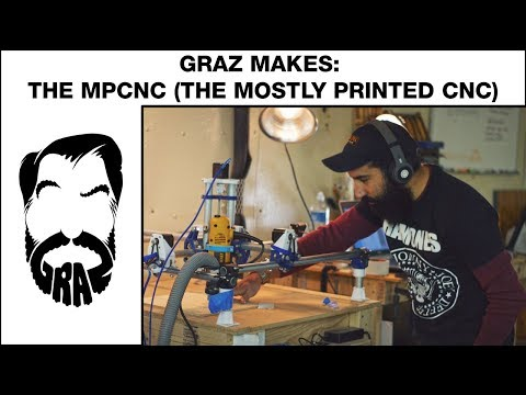 Graz Makes: The MPCNC (mostly printed cnc machine)