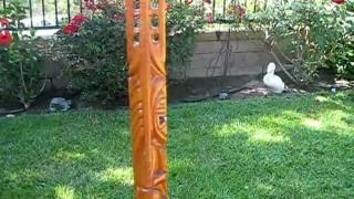Hot Rod Tiki Walking Stick