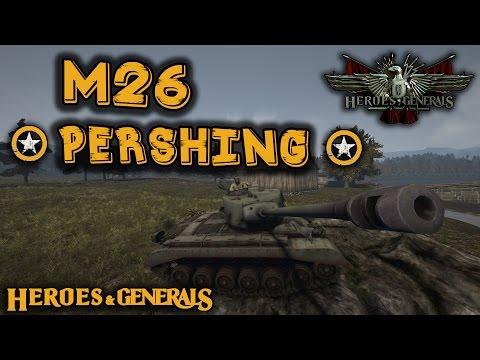 AMERICAN MONSTER! - M26 Pershing - Heroes and Generals [HD]