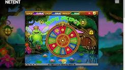 NetEnt - Super Lucky Frog - Gameplay demo
