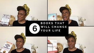 6 books that will change your life.