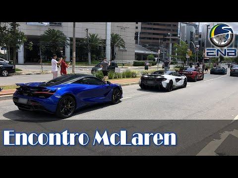 Encontro McLaren, Vanquish, SLS, M3 E AMG GTR