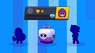 Opening Boxes on 0 TROPHY Account !!! Brawl Stars