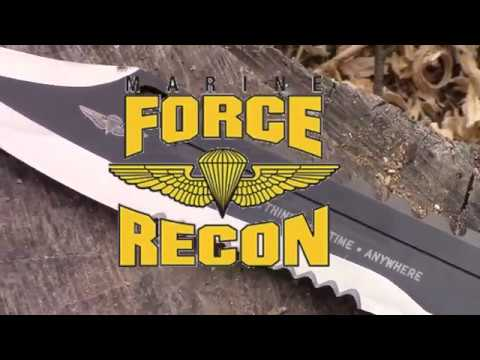 $20 Sawback Bowie Knife | Marine Force Recon