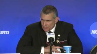 South Carolina coach Frank Martin responds to question from young reporter