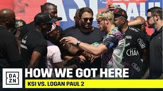 KSI vs. Logan Paul 2: How We Got Here