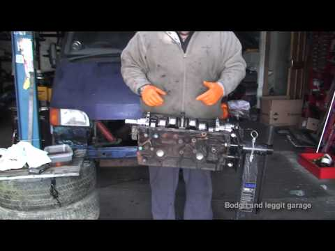 bodgit and leggit garage cosworth engine build part 1 bottom end (project van part 6)