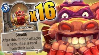 Chapter 5 WITH 16 STICKYTOES!!   Rise of Shadows   Hearthstone