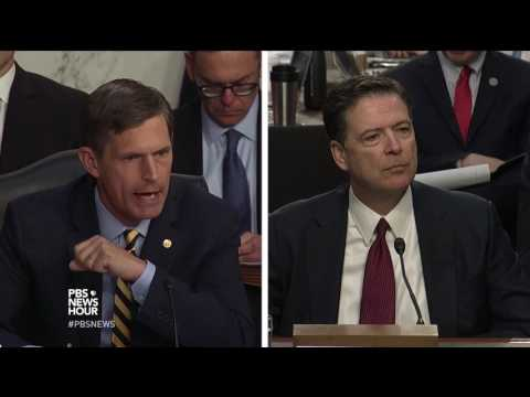 'No fuzz on this whatsoever: The Russians interfered in our election,' Comey tells Heinrich