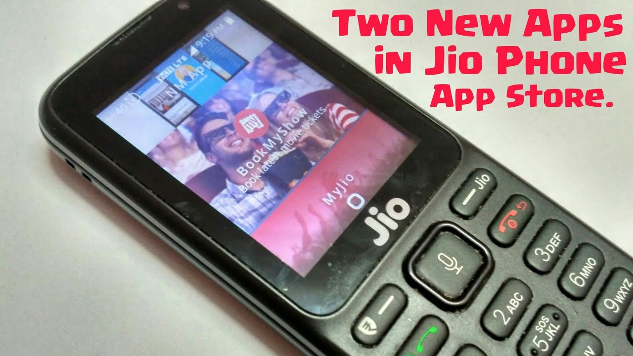 Two New Apps in Jio Phone App Store