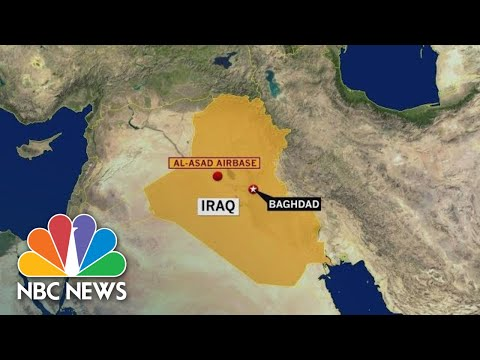 Iran Attacks Iraqi Air Base Where U.S. Troops Are Based | NBC News