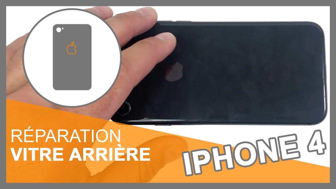 Tuto : Changer vitre arrière iPhone 4 / 4S