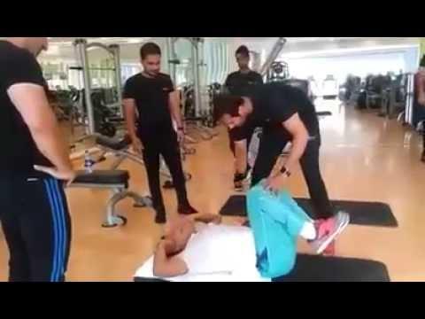 LEAKED Video of Imran Khan Fitness !
