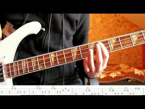The Knife - Heartbeats ( Bass Tutorial with TABS )