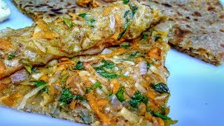 gajar mooli paratha recipe by indian food made easy