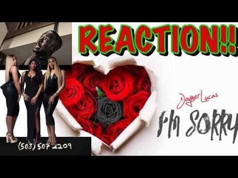 REACTION Joyner Lucas - I&39;m Sorry 508-507-2209