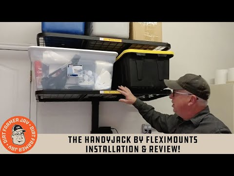 The HandyJack by Fleximounts Installation & Review!