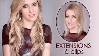 Comment poser des extensions à clips Glam Time Hair