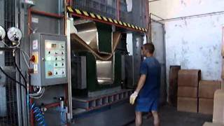 Plywood Glueing And Forming With High Frequency Generator | Hf Drying | Armchairs