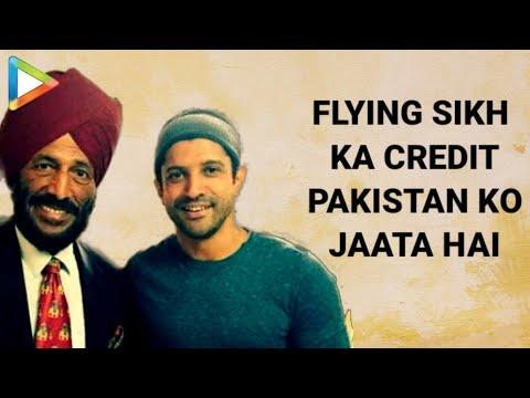 Flying Sikh Ka Credit Jo Hai Pakistan Ko Jaata Hai - Milkha Singh