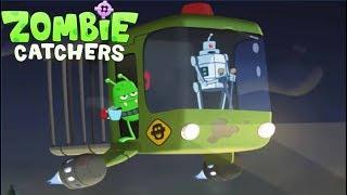 ОХОТА НА ЗОМБИ #195 Игра мультик про зомби апокалипсис Zombie Catchers Ловцы Зомби #Мобильные игры