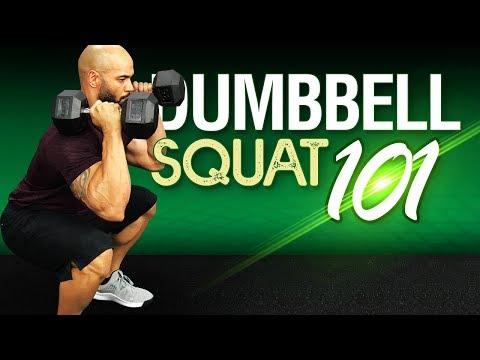 Dumbbell Squat: Proper Form For [BETTER] Results Without Injury!