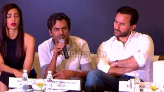 Nawazuddin Siddiqui's Reaction On HOT Scene In Babumoshai Bandookbaaz