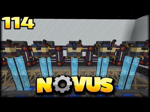 MASSIVE Luftproduktion   Minecraft NOVUS #114   Minecraft Modpack