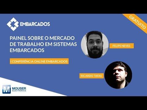 I Conferência online Embarcados: Painel sobre o mercado de trabalho em sistemas embarcados