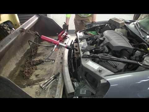 2007 Pontiac Grand Prix part 1 - Backyard radiator support straightening
