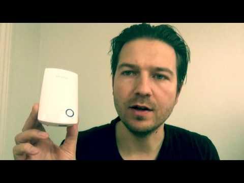 WIFI forstærker: Træt af døde WIFI punkter? Se hvordan det løses i denne youtube video