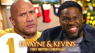 Dwayne Johnson and Kevin Hart's Very British Christmas | VERY STRONG LANGUAGE