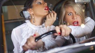Пьяные дуры за рулем | Drunken fools behind the wheel