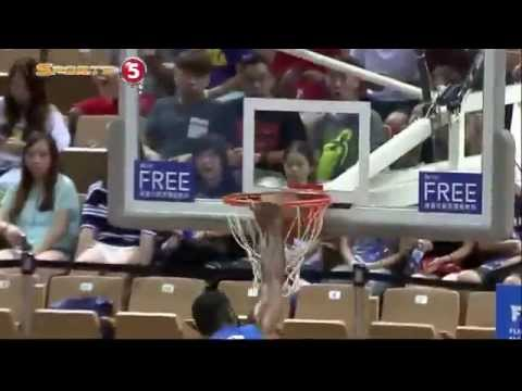 Moala Tautuaa's MONSTER Slam Against USA Select (VIDEO) Jones Cup 2015