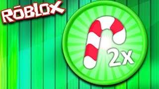 NEW GAMEPASS 2x Candy Canes (ROBLOX Bubble Gum Simulator)