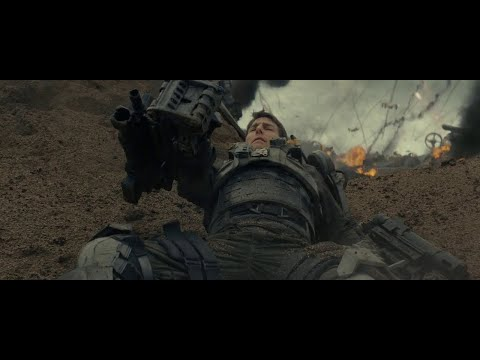 Edge Of Tomorrow(2014) | First Battle Scene In Hindi