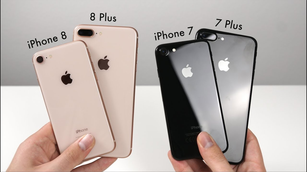 Iphone 8 vs 7 plus