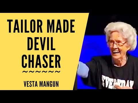 Tailor Made Devil Chaser ~ Vesta Mangun