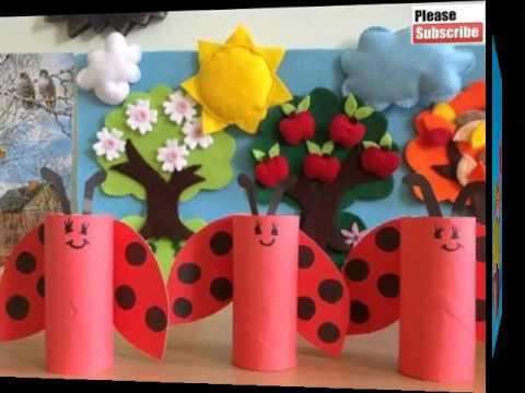 Toilet Paper Roll Crafts For Kids Easy Beautiful Handmade Set Of