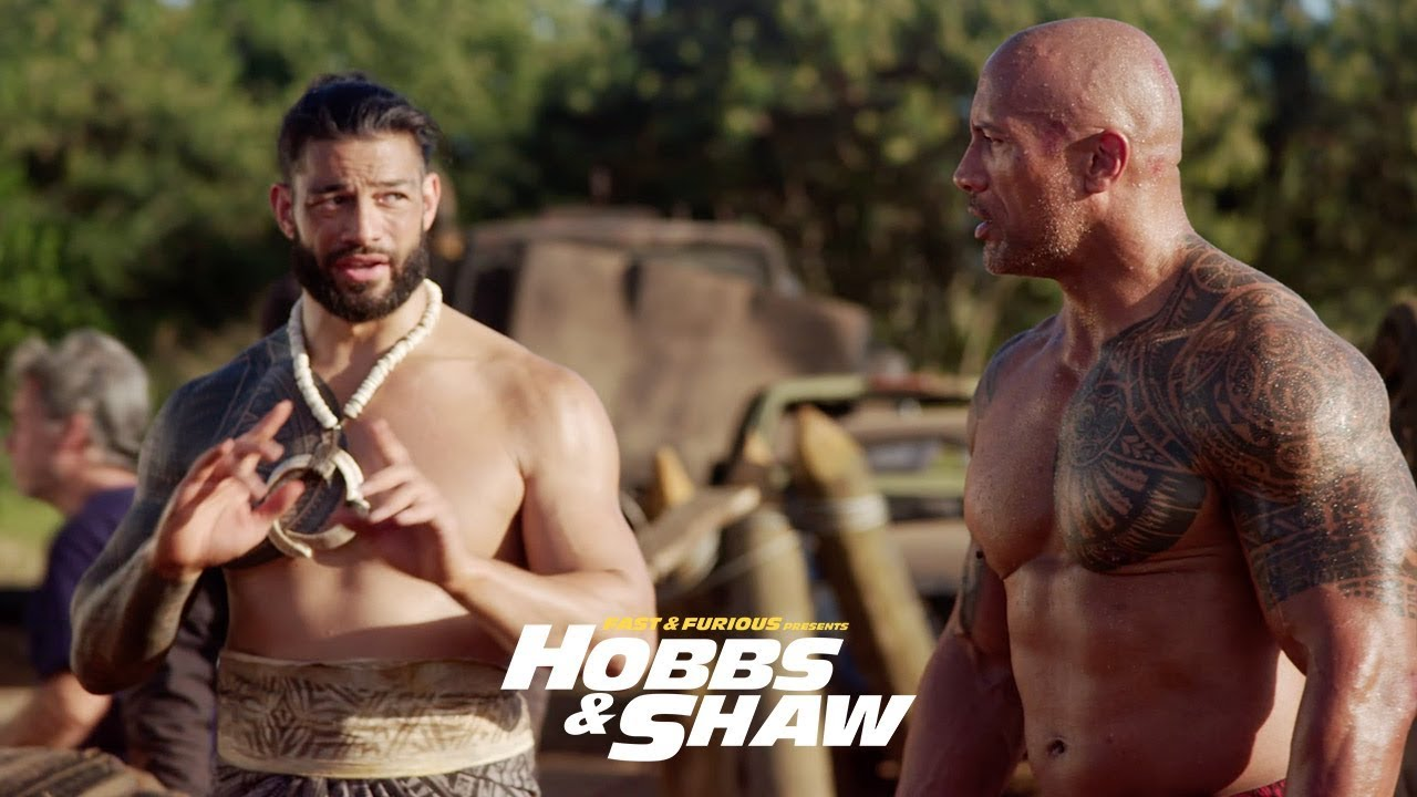 Download Fast & Furious Presents: Hobbs & Shaw - Dwayne & Roman Reigns as Usos