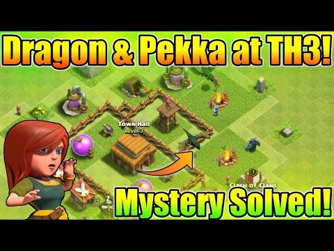 Pekka And Dragon In TH3 Army Camp | Mystery Solved | How Is That Possible