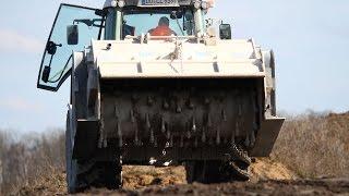 Stehr SBF 24-2 | Die Stärkste Anbau-Bodenstabilisierungsfräse im Praxiseinsatz