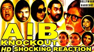 AIB Knockout | Aamir Khan | Alia Bhatt | Anushka | Amitabh Reacts On #AIBKnockoutControversy