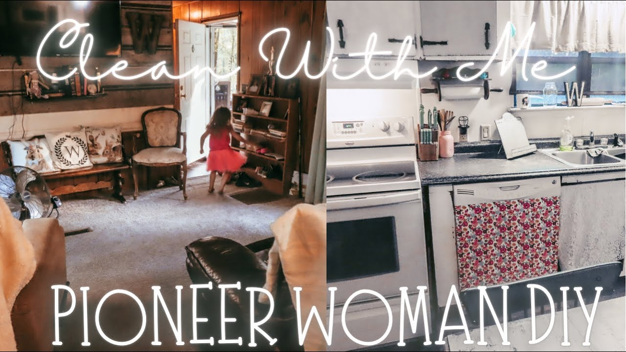 SINGLE WIDE CLEAN WITH ME | PIONEER WOMAN DISHWASHER DIY