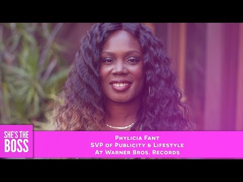 PR Guru Phylicia Fant Speaks on Lack of Minority Execs in Music | She's The Boss S4E2