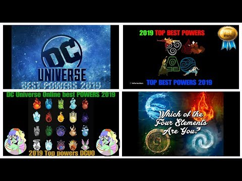 DCUO 2019 TOP 10 BEST POWERS: Beginner And PROS Pve, Pvp, All Roles.(WHAT POWERS ARE YOU)